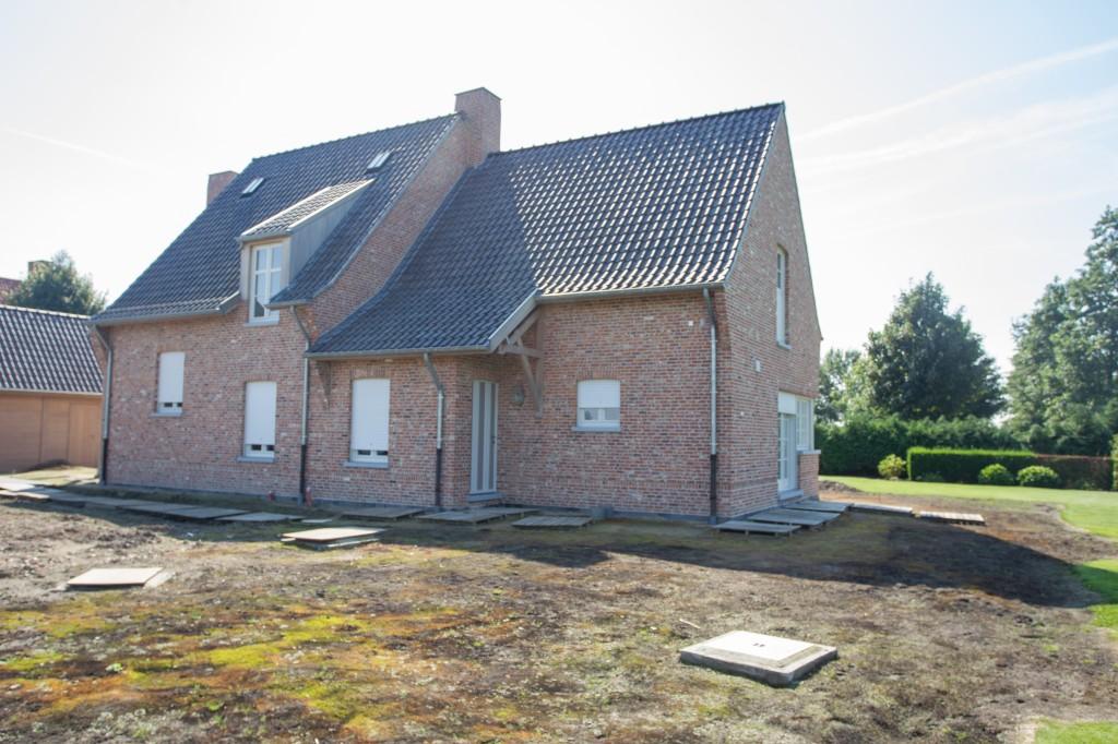 Bouwwerken Dhaens, Nieuwbouw Alleenstaande woning, Maldegem, D53J3106
