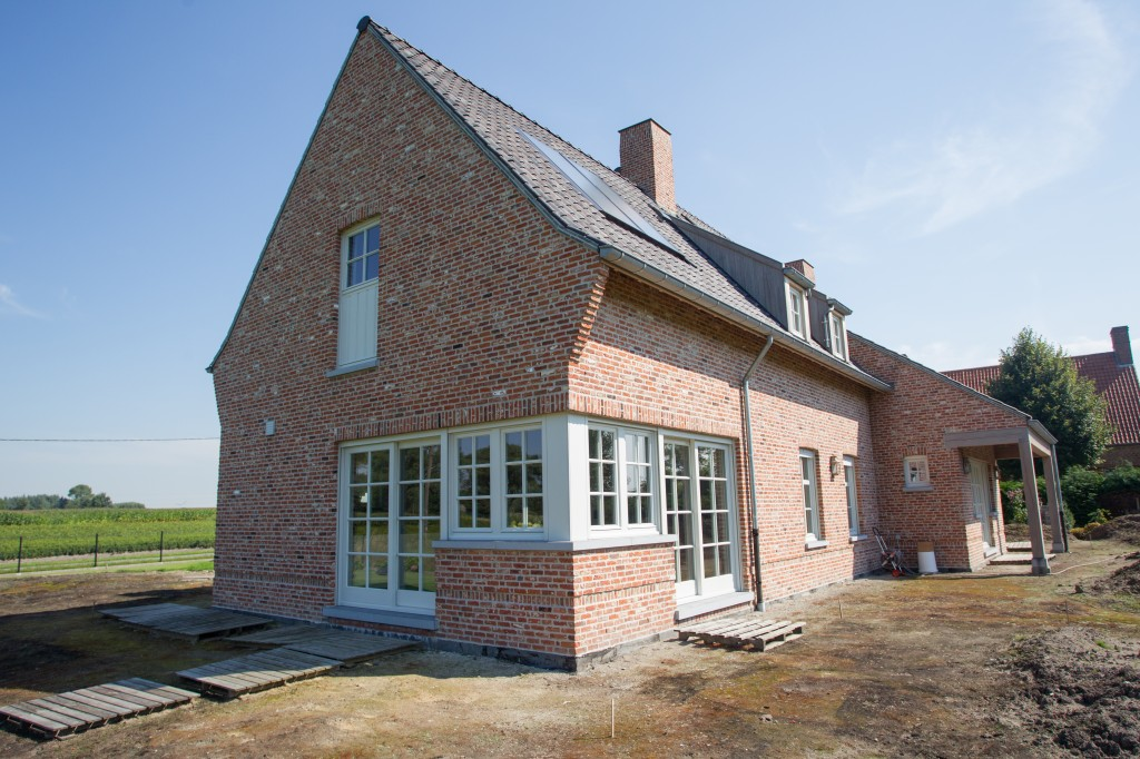 Bouwwerken Dhaens, Nieuwbouw Alleenstaande woning, Maldegem, D53J3122