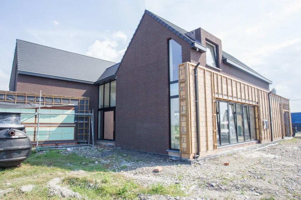Bouwwerken Dhaens, Nieuwbouw Villa, Slijpe, D53J3221