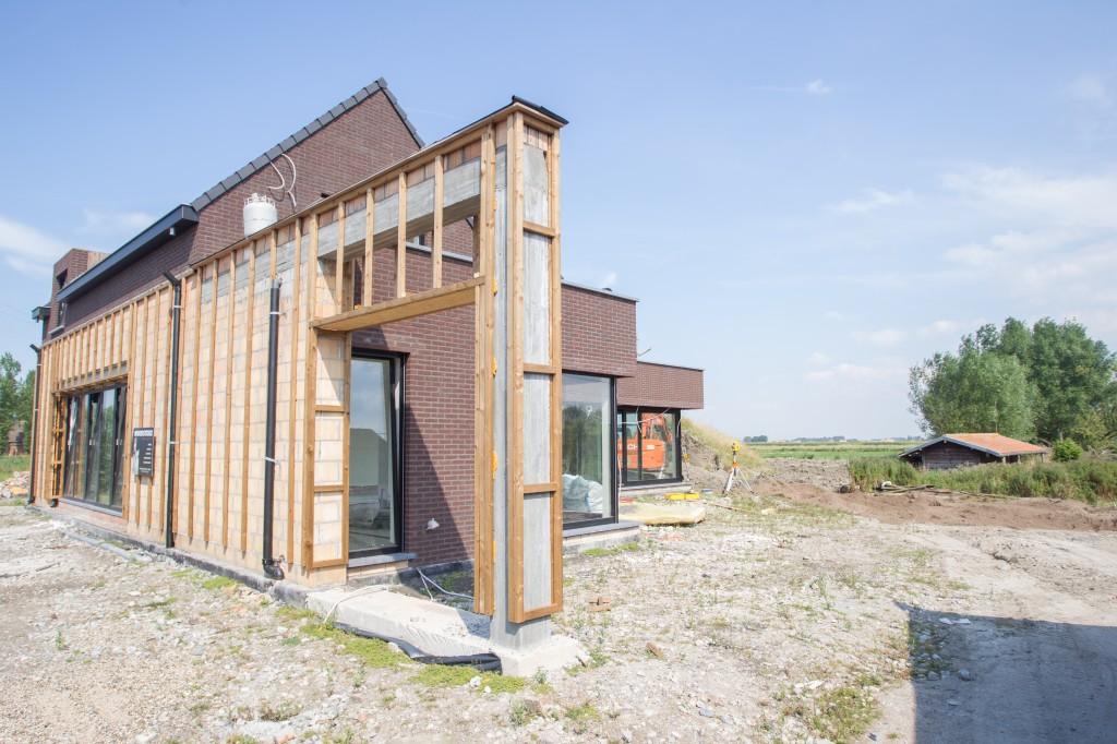Bouwwerken Dhaens, Nieuwbouw Villa, Slijpe, D53J3222