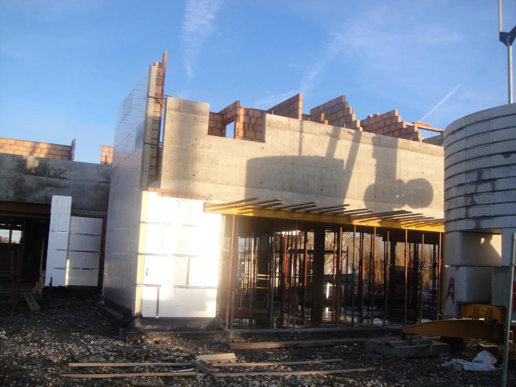 Bouwwerken Dhaens, Nieuwbouw Villa, Slijpe, DSC02246