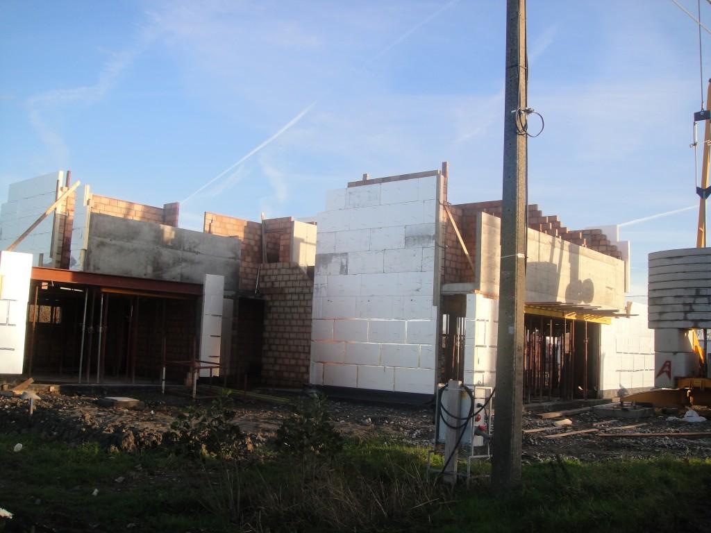Bouwwerken Dhaens, Nieuwbouw Villa, Slijpe, DSC02247