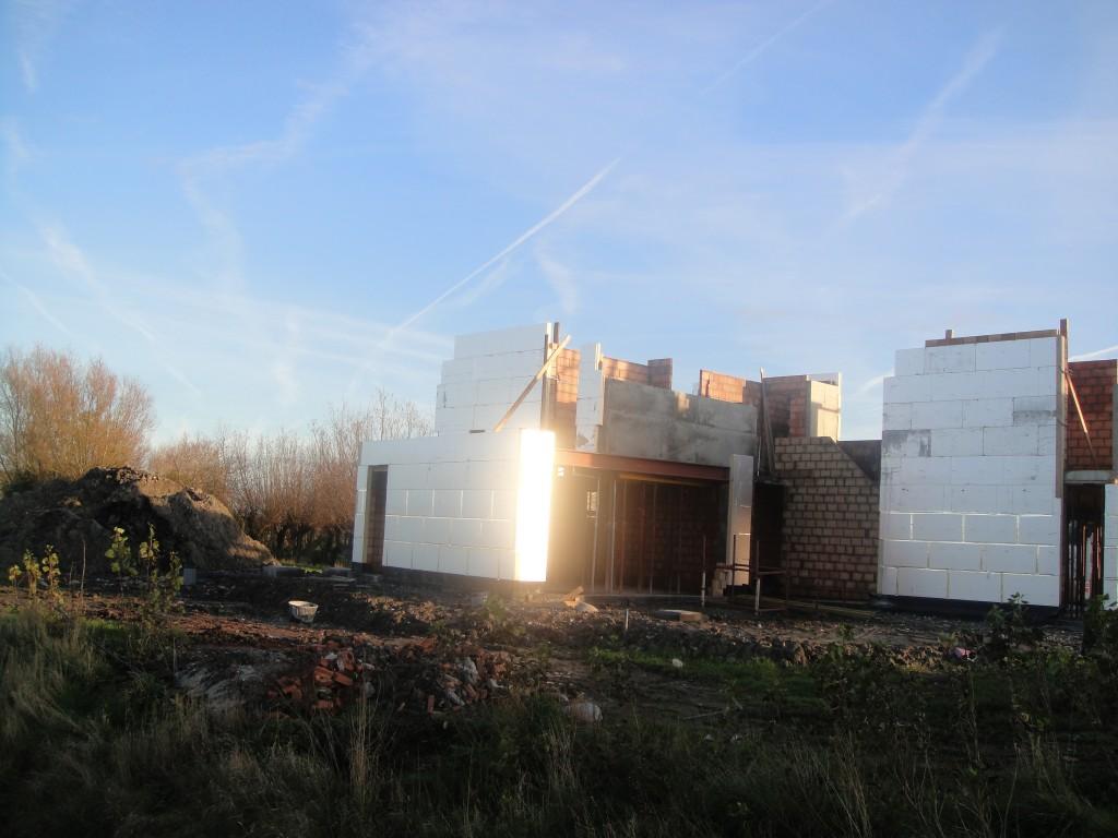 Bouwwerken Dhaens, Nieuwbouw Villa, Slijpe, DSC02248