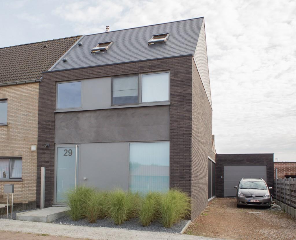 Bouwwerken Dhaens, Nieuwbouw Halfopen bebouwing, Assebroek, 1D4_3748-W