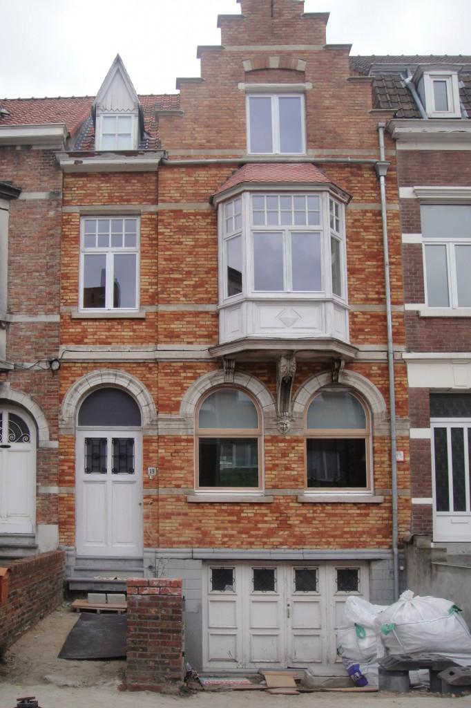 Bouwwerken Dhaens, Renovatie Rijwoning, Brugge, BRRijf-W