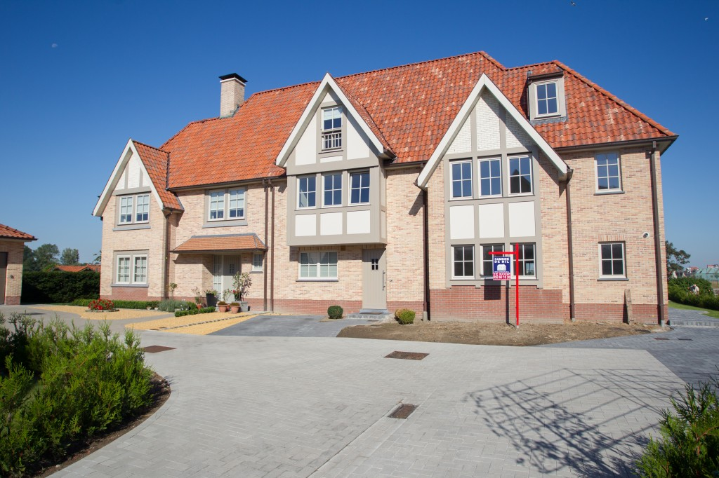 Bouwwerken Dhaens, Nieuwbouw Gekoppelde gezinswoning Knokke, D53J3033