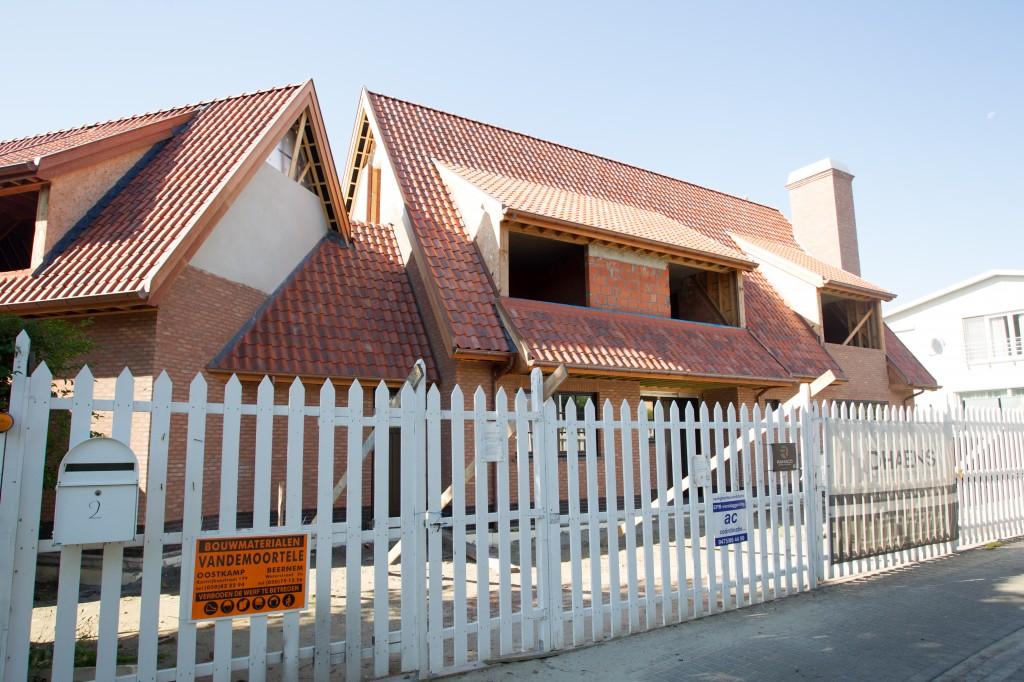 Bouwwerken Dhaens, Nieuwbouw Villa, Duinbergen, D53J3049