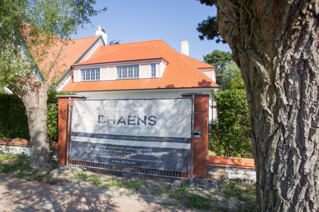 Bouwwerken Dhaens, Renovatie Villa, Knokke, D53J3087