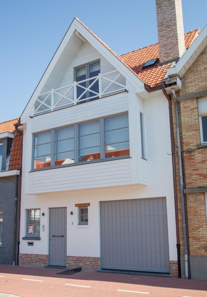 Bouwwerken Dhaens, Nieuwbouw Rijwoning, Knokke, D53J3100-W