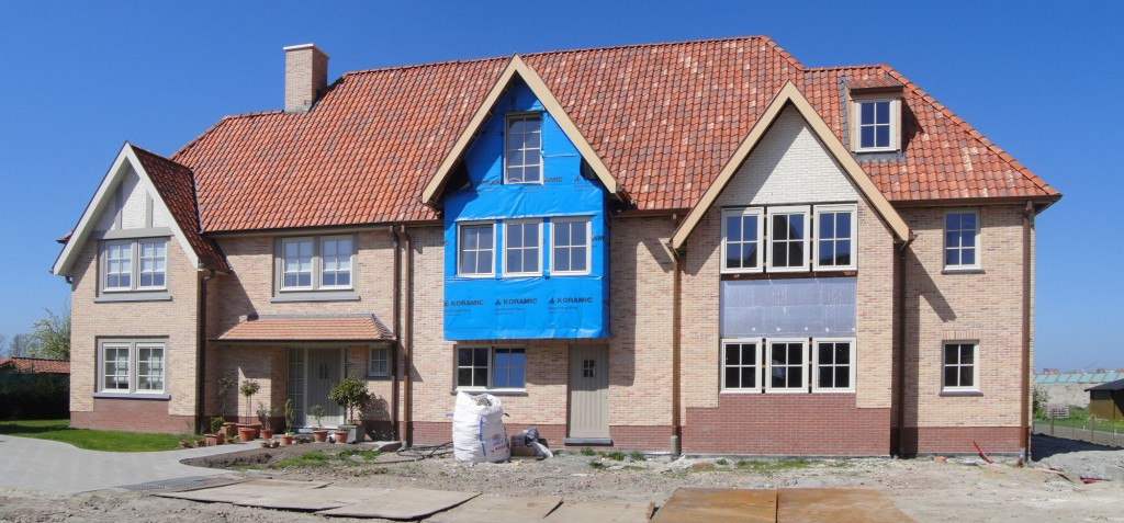 Bouwwerken Dhaens, Nieuwbouw Gekoppelde gezinswoning Knokke, DSC01078-W