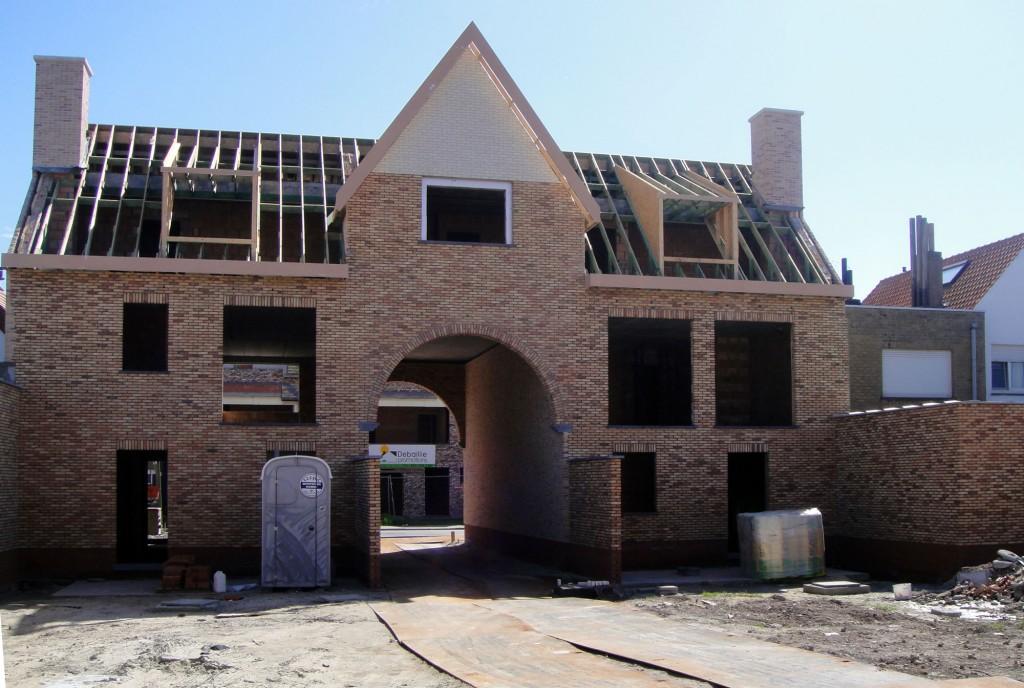 Bouwwerken Dhaens, Nieuwbouw Gekoppelde gezinswoning Knokke, DSC01082-W