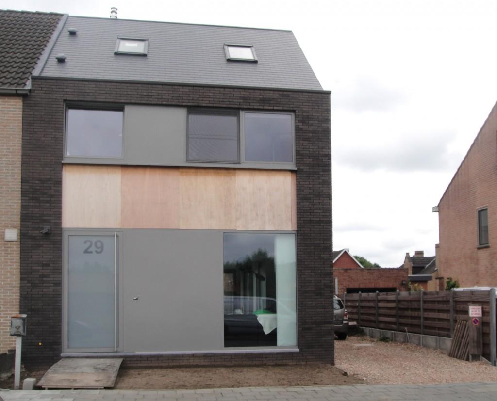 Bouwwerken Dhaens, Nieuwbouw Halfopen bebouwing, Assebroek, DSC01242-W