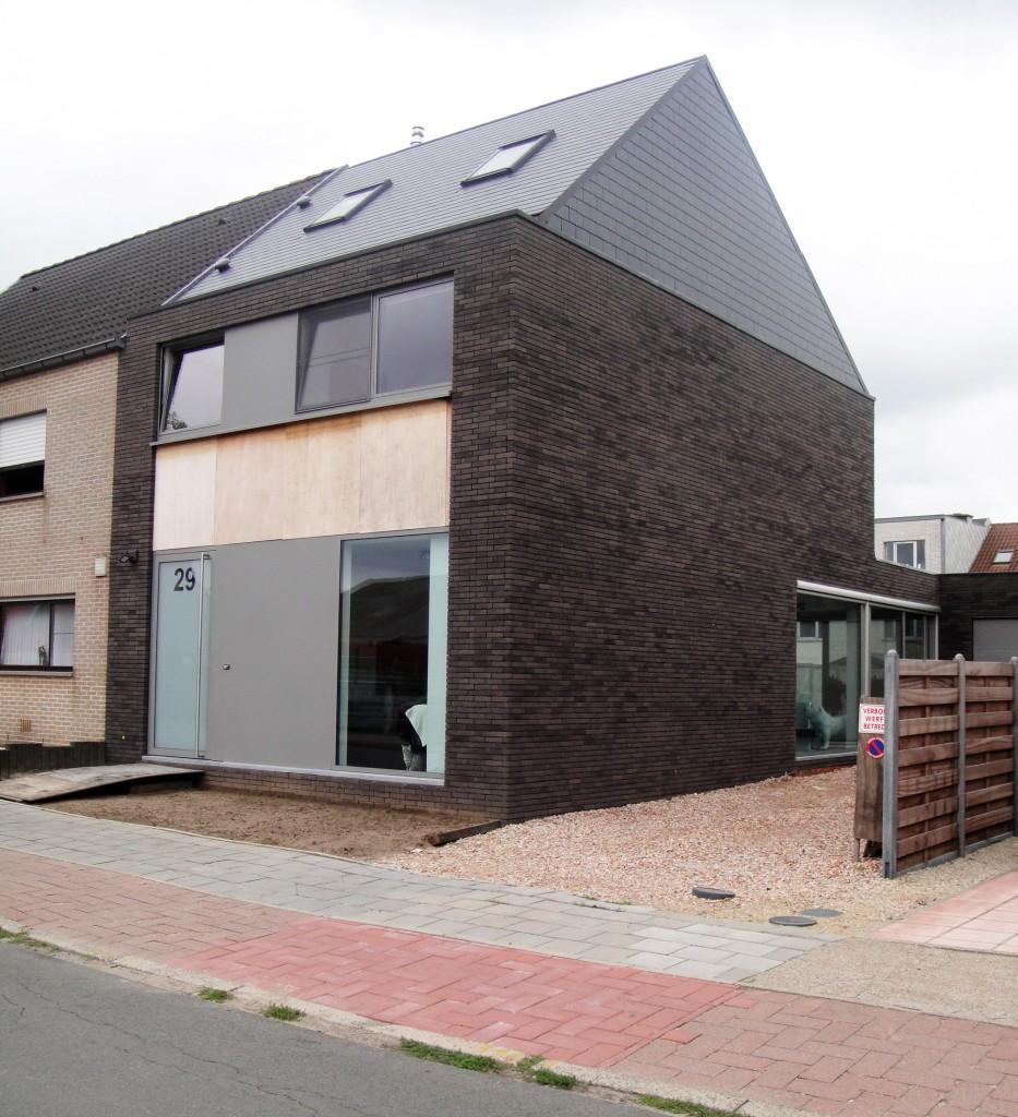 Bouwwerken Dhaens, Nieuwbouw Halfopen bebouwing, Assebroek, DSC01245-W