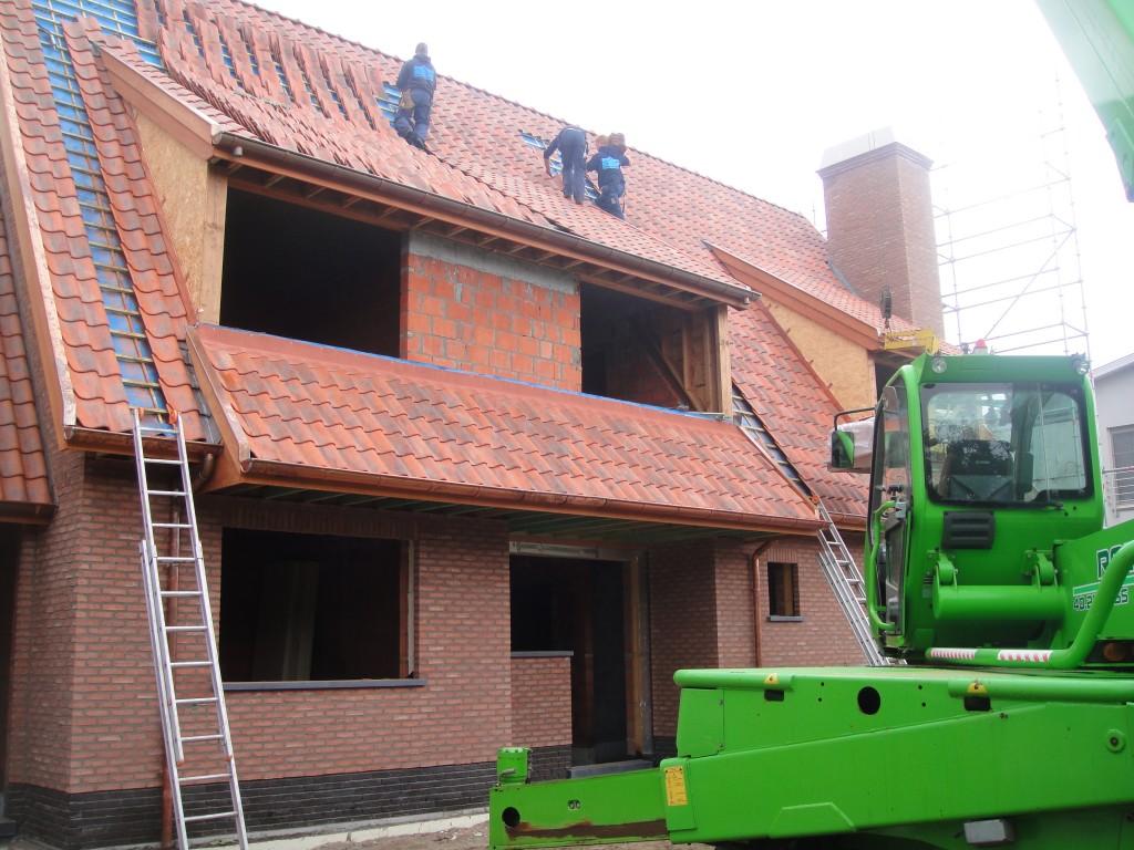 Bouwwerken Dhaens, Nieuwbouw Villa, Duinbergen, DSC02586