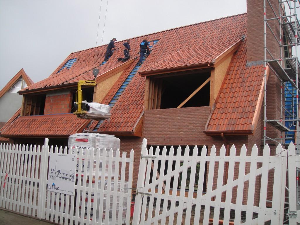 Bouwwerken Dhaens, Nieuwbouw Villa, Duinbergen, DSC02587