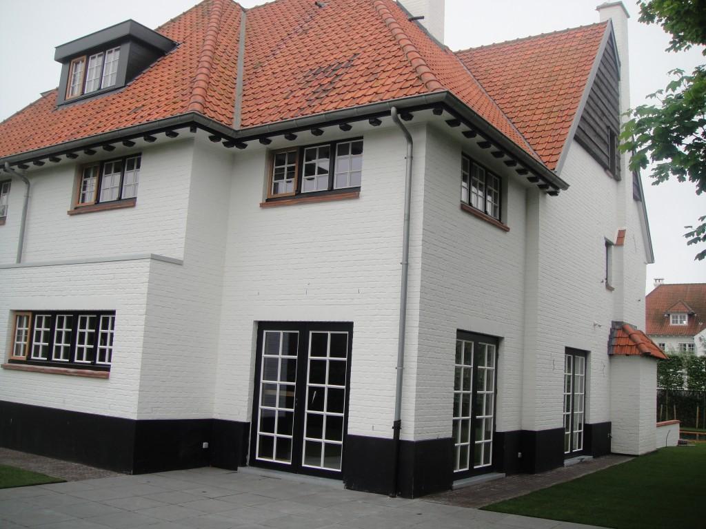 Bouwwerken Dhaens, Nieuwbouw Villa Knokke, DSC02601