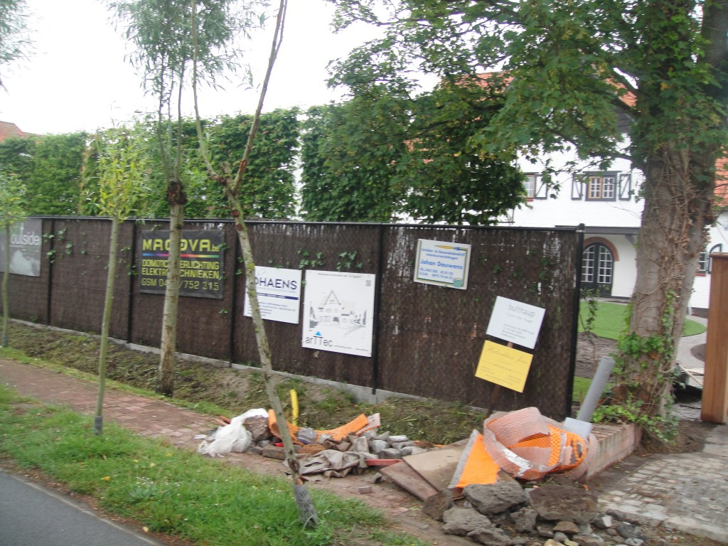 Bouwwerken Dhaens, Nieuwbouw Villa Knokke, DSC02603