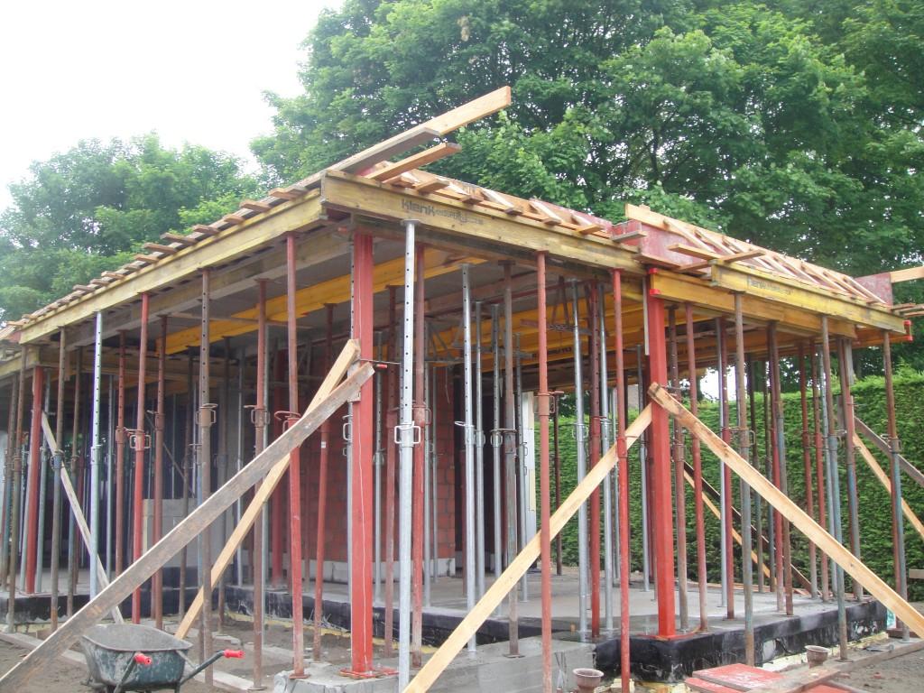 Bouwwerken Dhaens, Nieuwbouw Villa, Knokke, DSC02605