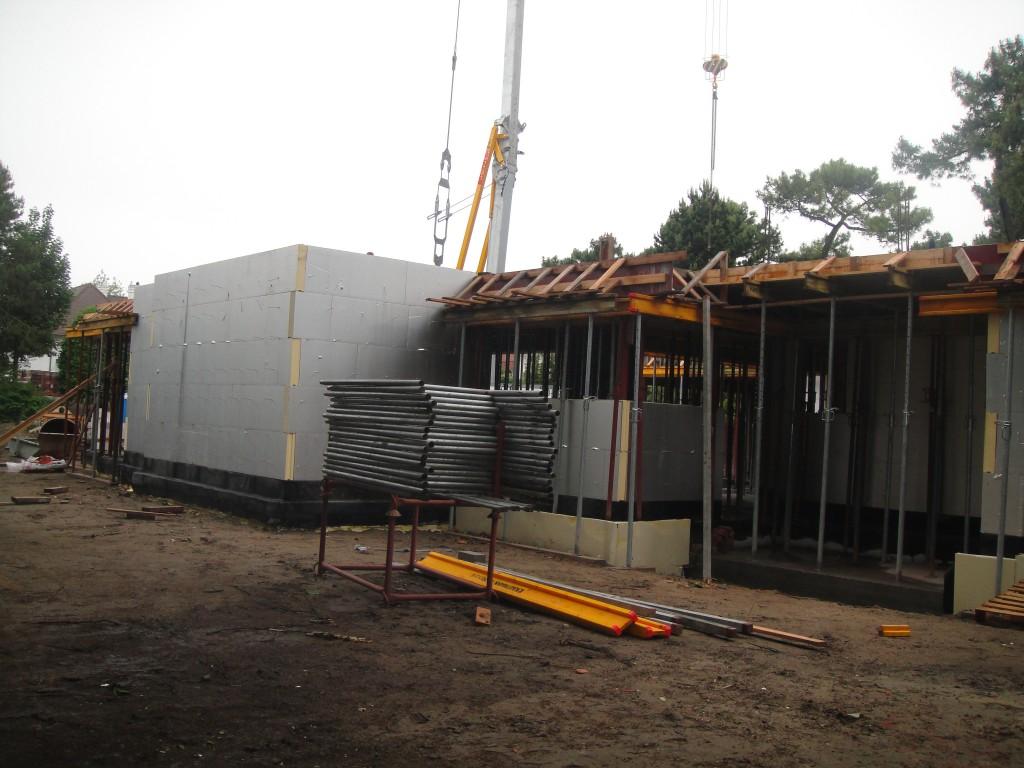 Bouwwerken Dhaens, Nieuwbouw Villa, Knokke, DSC02610