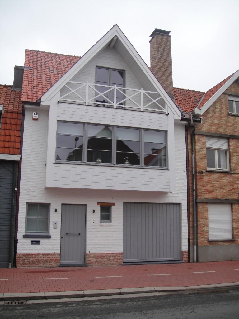 Bouwwerken Dhaens, Nieuwbouw Rijwoning, Knokke, DSC02618