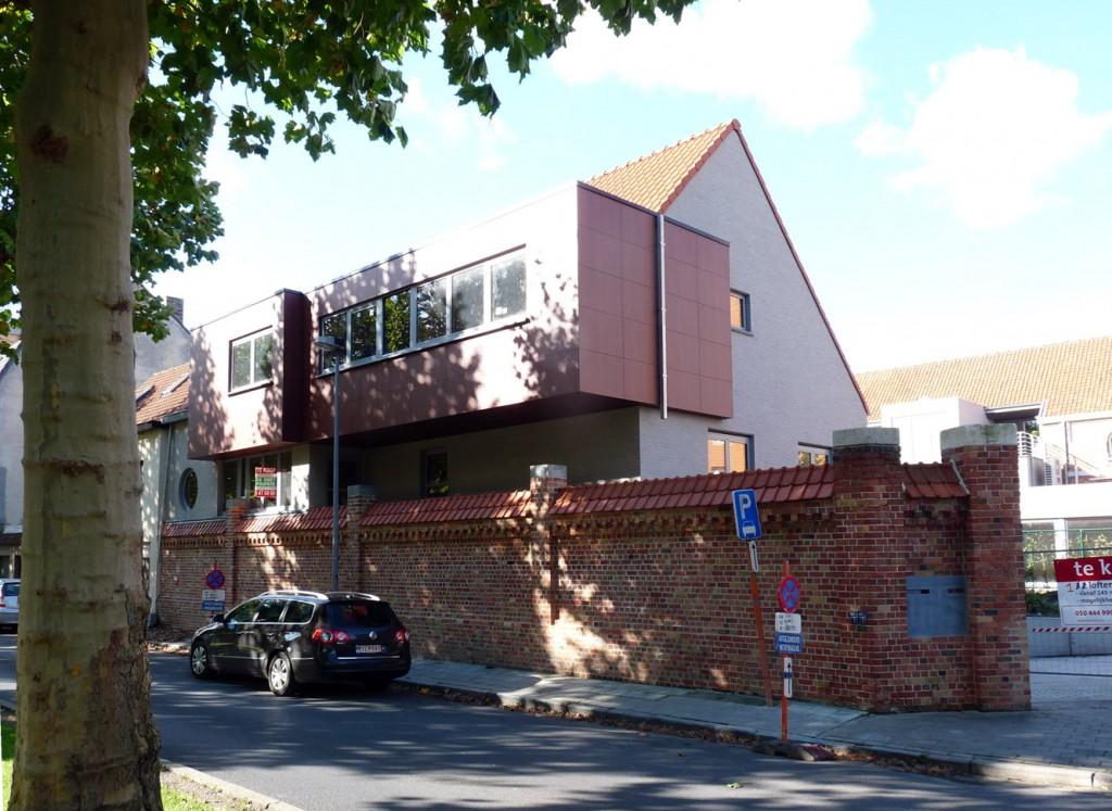 Bouwwerken Dhaens, Koppelwoningen Brugge, P1050035-W