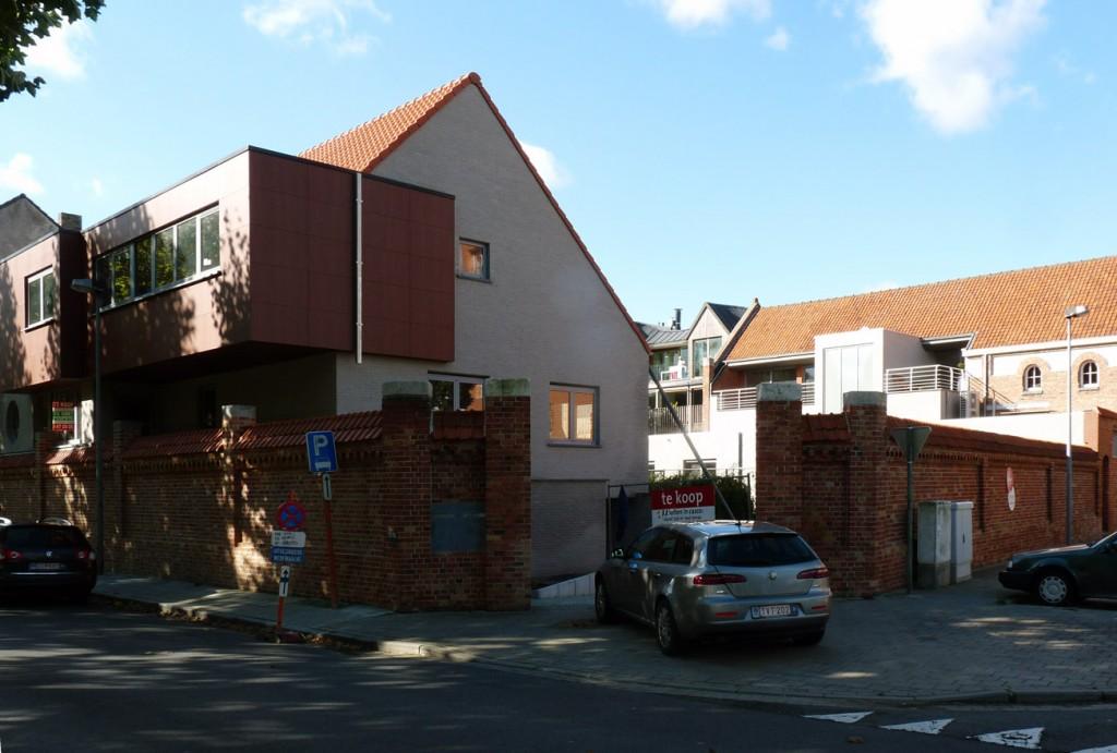 Bouwwerken Dhaens, Koppelwoningen Brugge, P1050037-W
