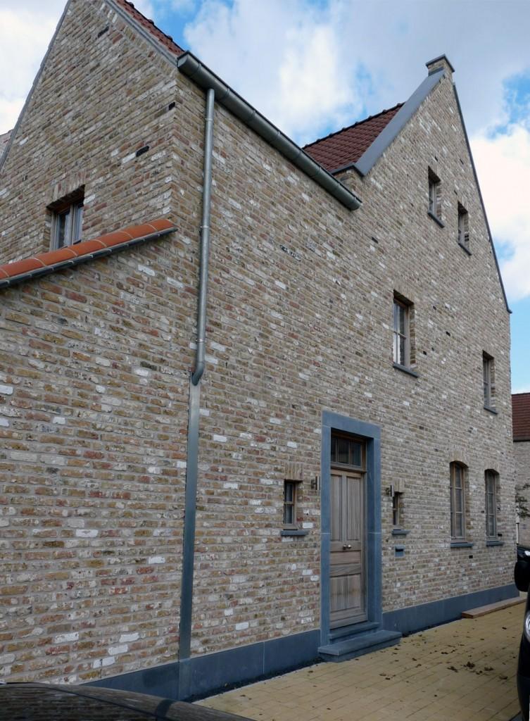 Bouwwerken Dhaens, Hoekwoning, Knokke, P1050038-W