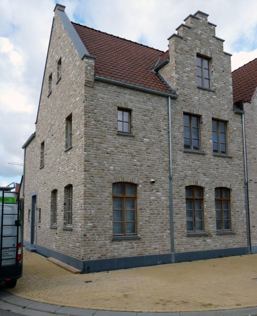Bouwwerken Dhaens, Hoekwoning, Knokke, P1050043-W