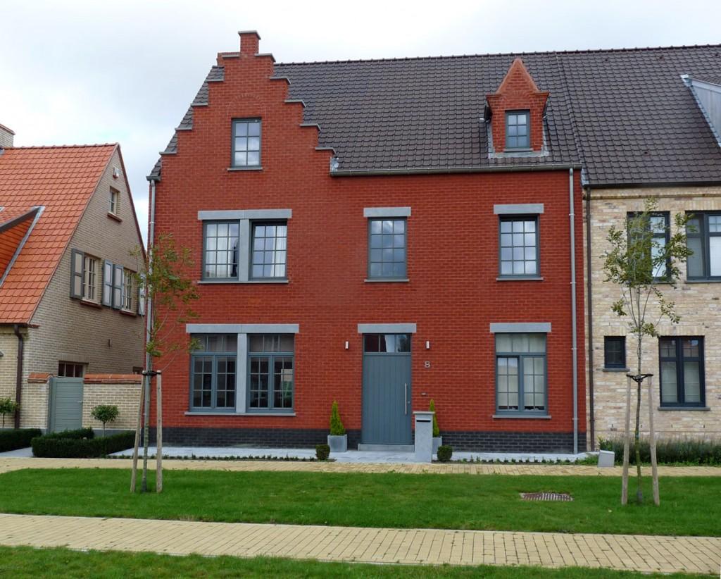 Bouwwerken Dhaens, Halfopen gezinswoning, Knokke, P1050044-W