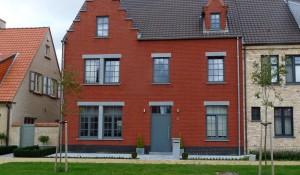 Halfopen gezinswoning, Knokke