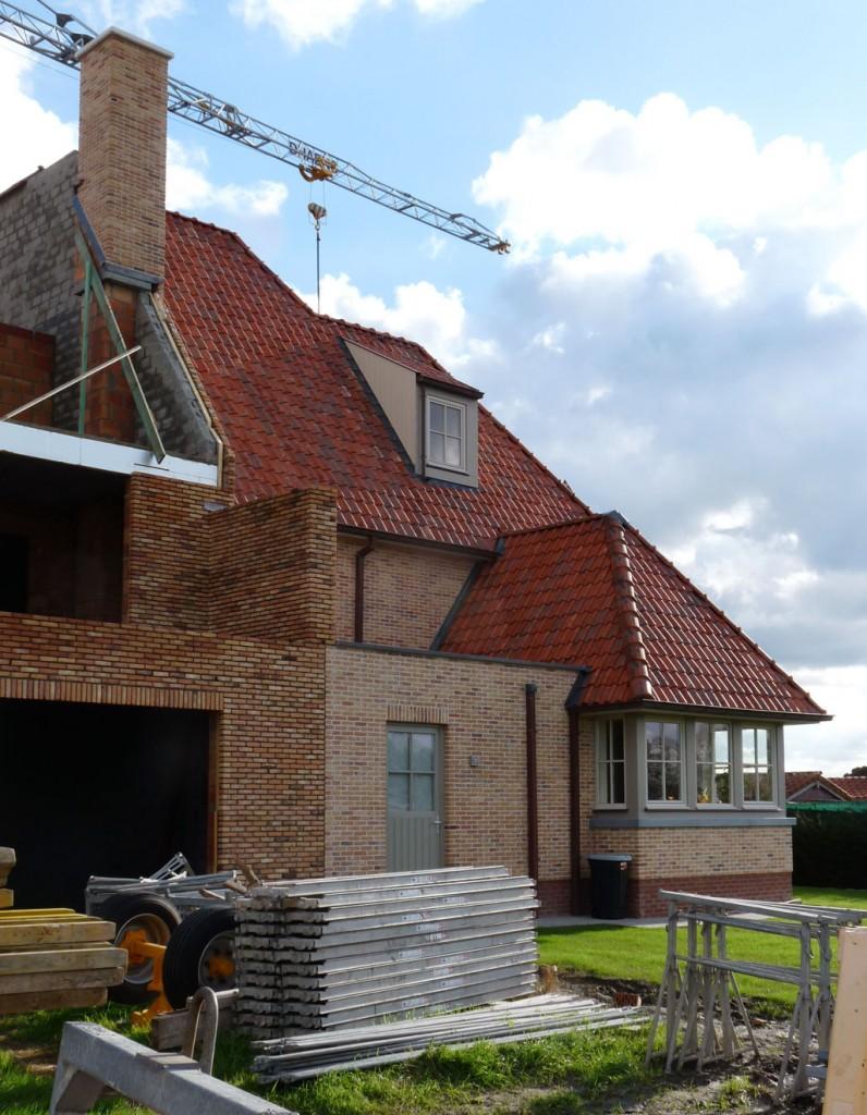 Bouwwerken Dhaens, Nieuwbouw Gekoppelde gezinswoning Knokke, P1050054-W