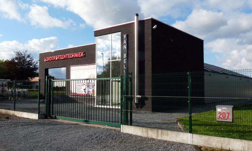 Bouwwerken Dhaens, Nieuwbouw Handelszaak, Maldegem, P1050070-W