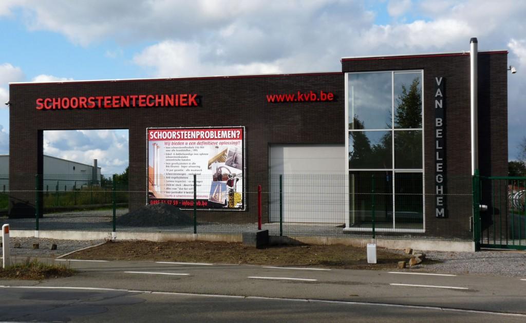 Bouwwerken Dhaens, Nieuwbouw Handelszaak, Maldegem, P1050071-W
