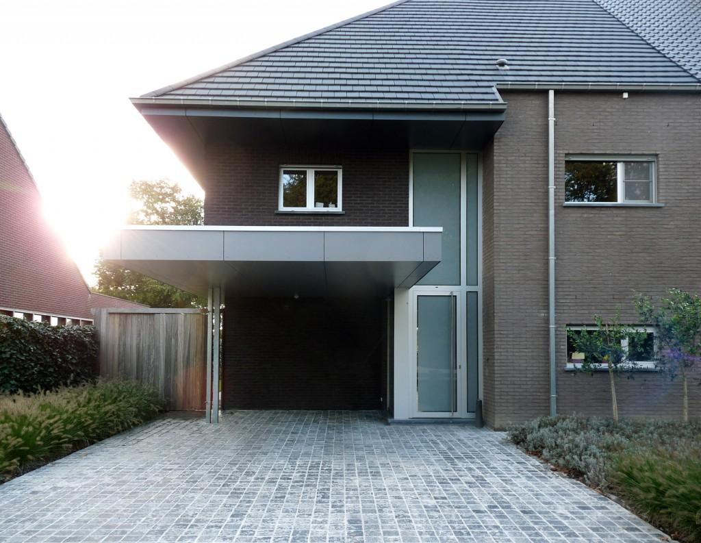 Bouwwerken Dhaens, Halfopen gezinswoning, Beernem, P1050075-W