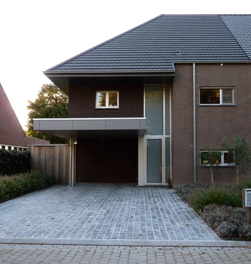 Bouwwerken Dhaens, Halfopen gezinswoning, Beernem, P1050085-W