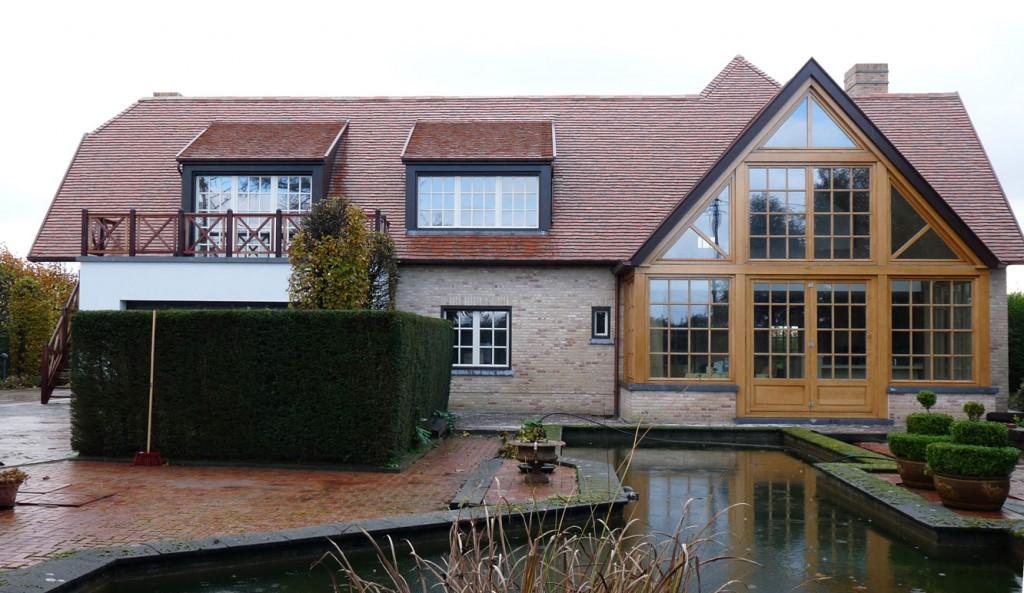 Bouwwerken Dhaens, Renovatie Villa, Sijsele, P1050126-W