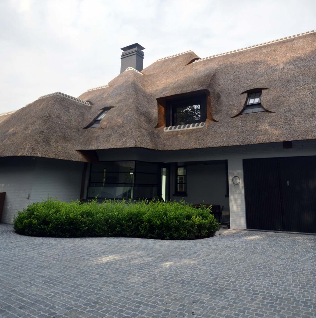 Bouwwerken Dhaens, Nieuwbouw Villa Knokke, pano