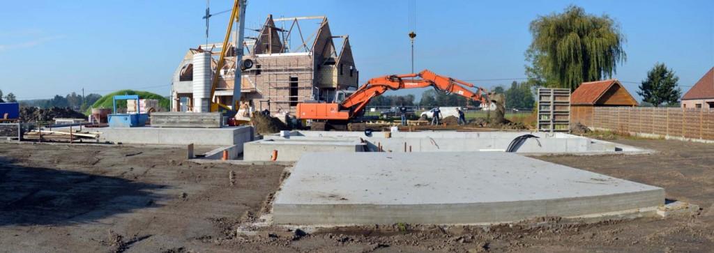 Bouwwerken Dhaens, Nieuwbouw Kleit, MaesBonne_villa_Kleit_pano