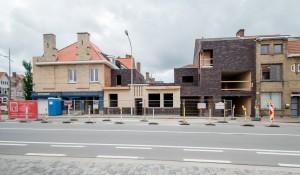 Handelsruimte en appartementen, Brugge